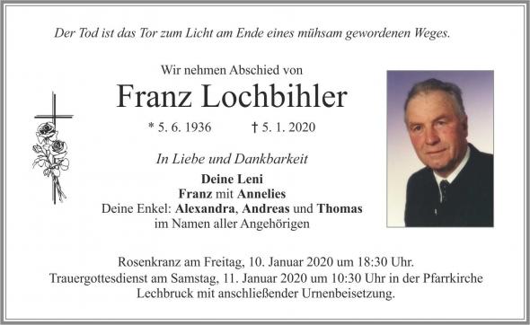 Franz Lochbihler