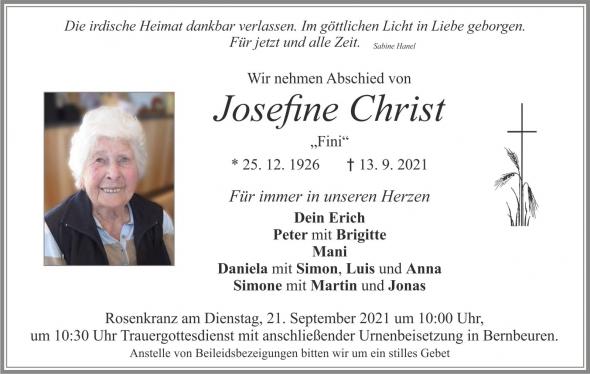 Josefine Christ