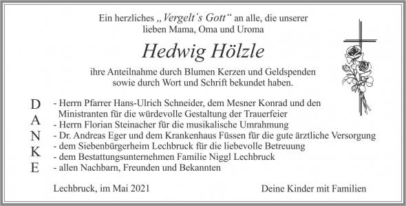 Hedwig Hölzle