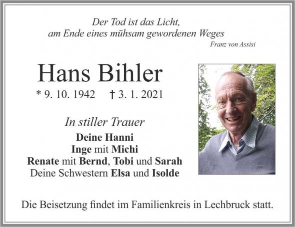 Hans Bihler