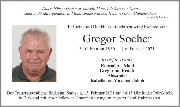 Gregor Socher