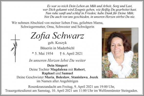 Zofia Schwarz