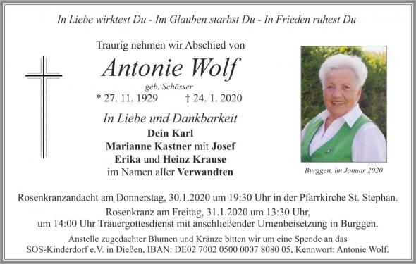 Antonie Wolf