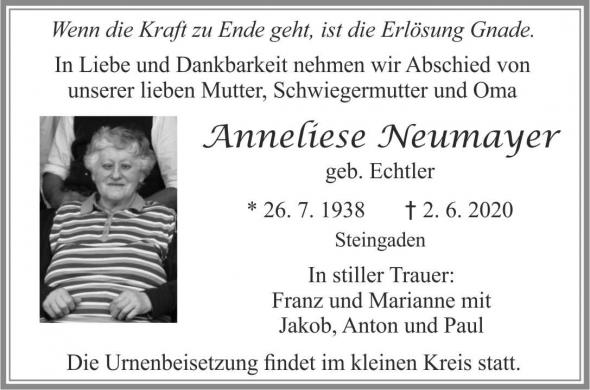 Anneliese Neumayer