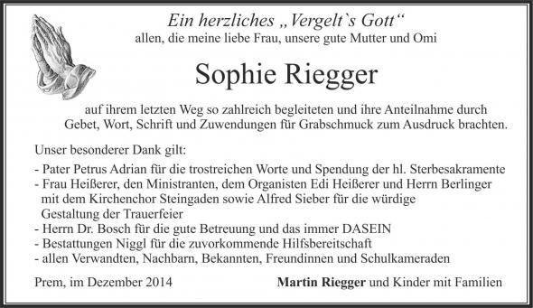 Sophie Riegger