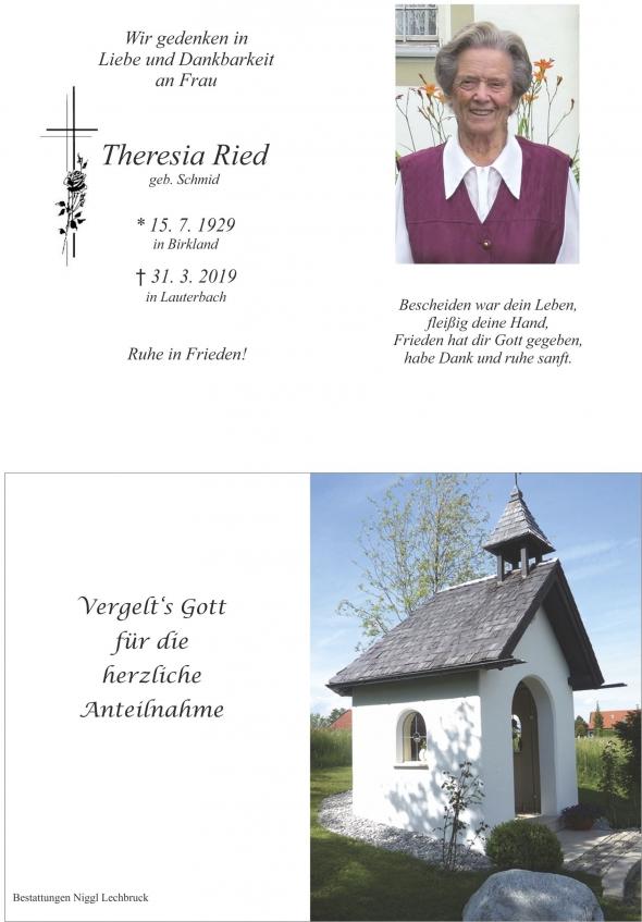 Theresia Ried