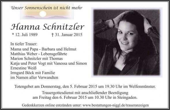 Hanna Schnitzler