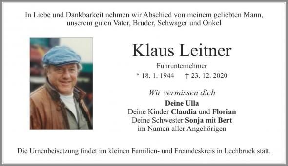 Klaus Leitner