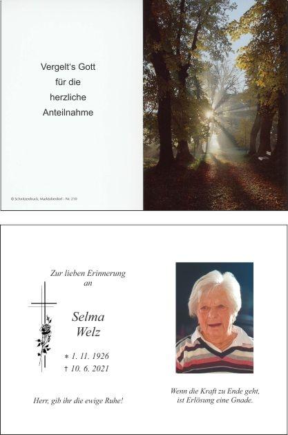 Selma Welz