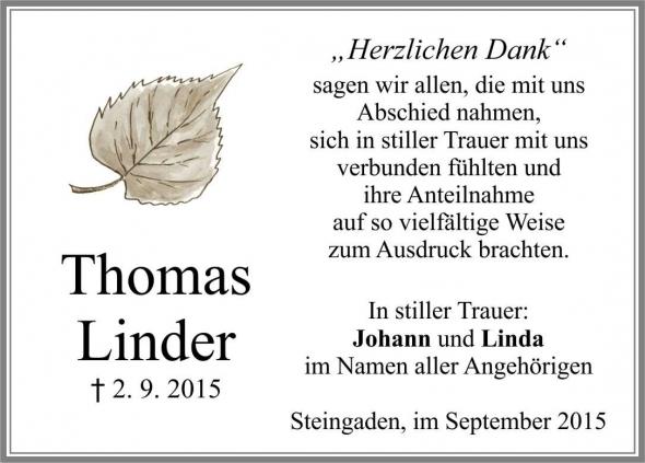 Thomas Linder