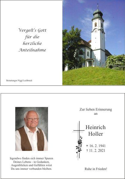 Heinrich Holler