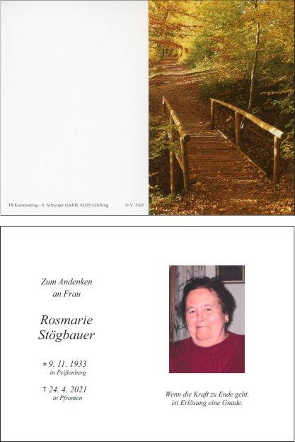 Rosmarie Stögbauer