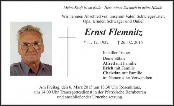 Ernst Flemnitz