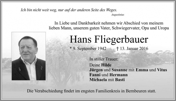 Hans Fliegerbauer