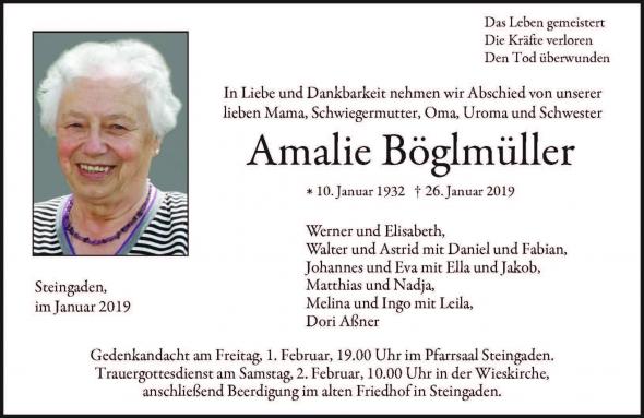Amalie Böglmüller