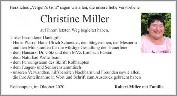 Christine Miller