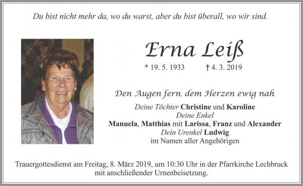 Erna Leiß