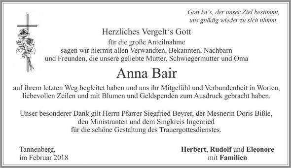 Anna Bair