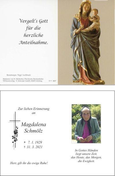 Magdalena Schmölz
