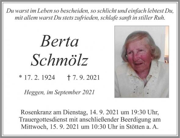 Berta Schmölz