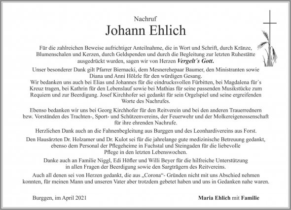 Johann Ehlich