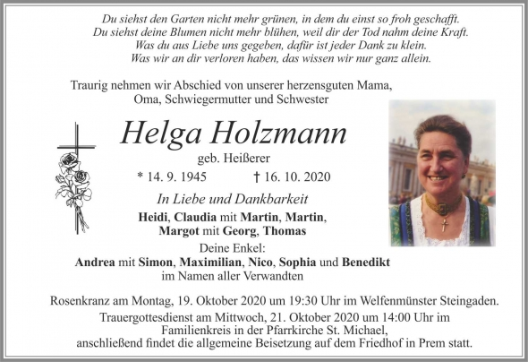 Helga Holzmann