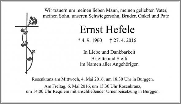 Ernst Hefele