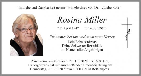 Rosina Miller