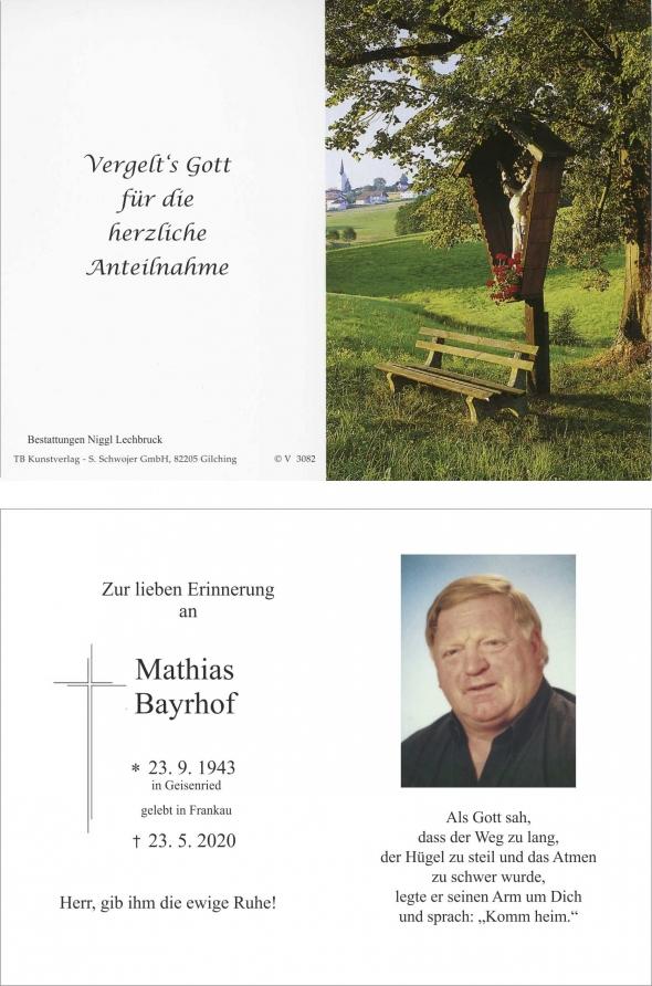 Mathias Bayrhof