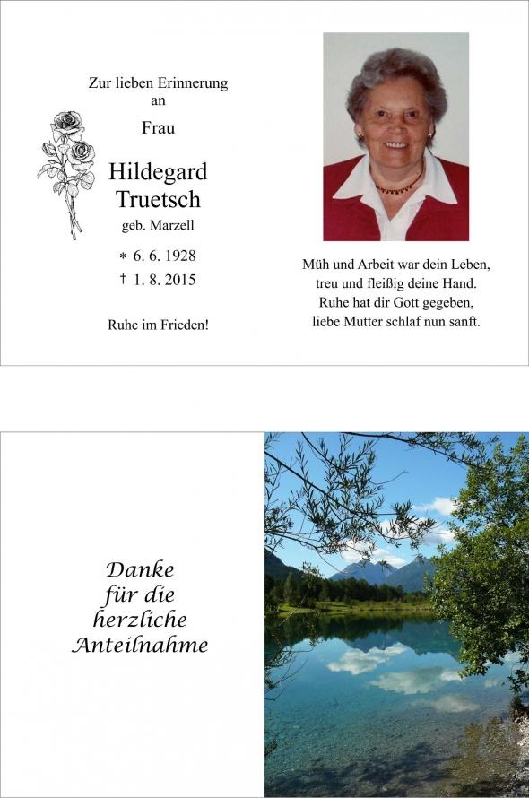 Hildegard Truetsch