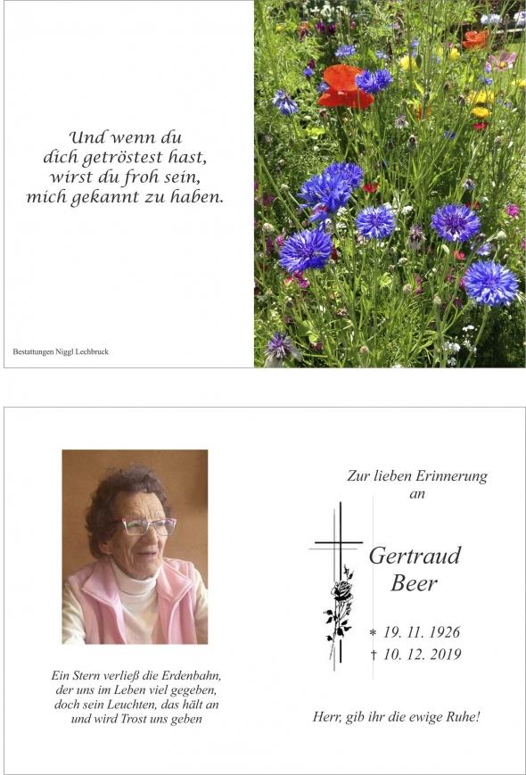 Gertraud Beer