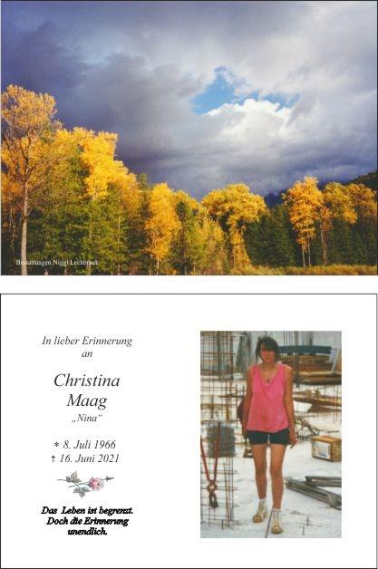 Christina Maag