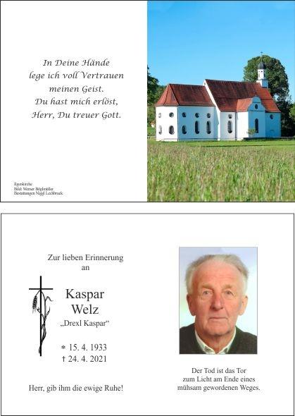 Kaspar Welz
