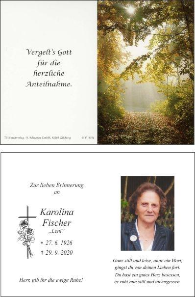 Karolina Fischer