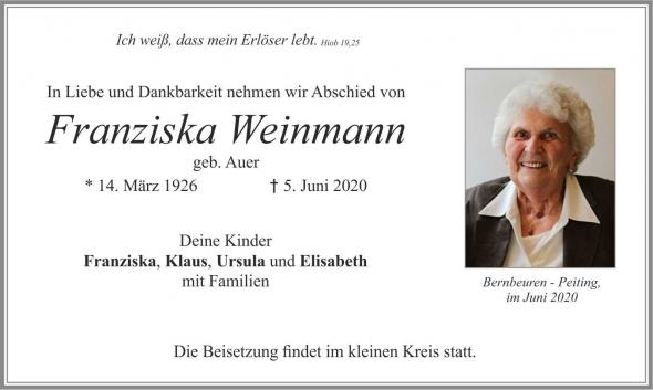 Franziska Weinmann