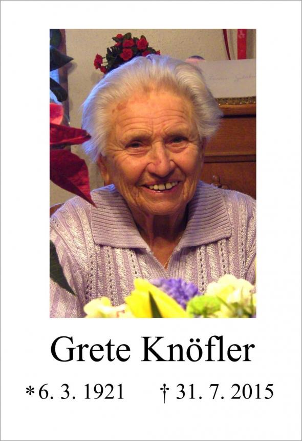 Grete Knöfler