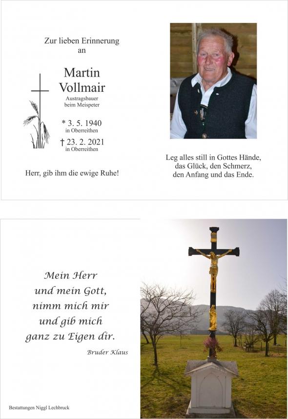 Martin Vollmair