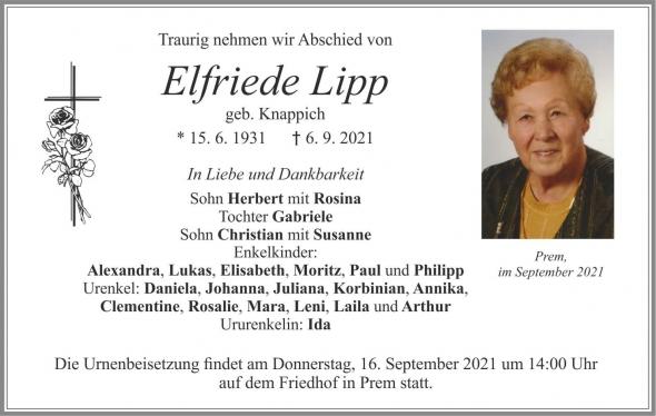 Elfriede Lipp