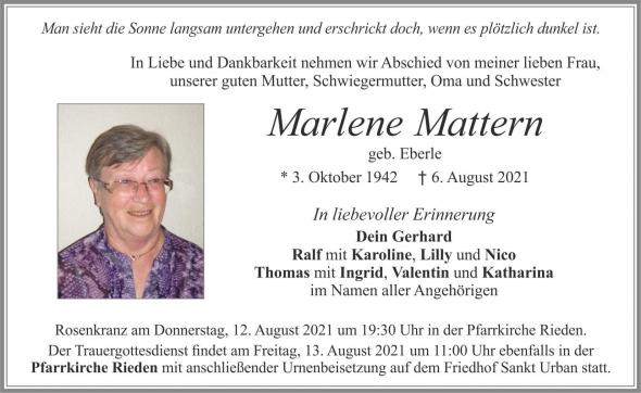 Marlene Mattern