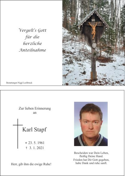 Karl Stapf