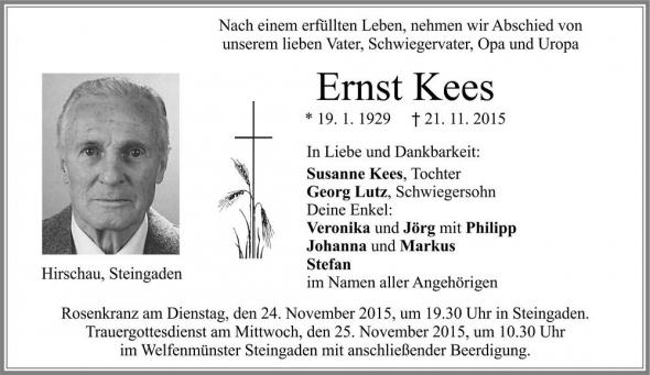 Ernst Kees