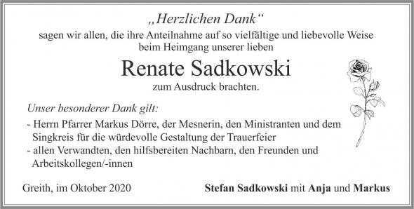 Renate Sadkowski
