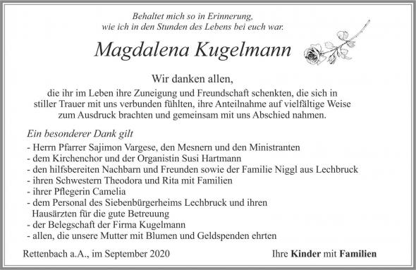 Magdalena Kugelmann