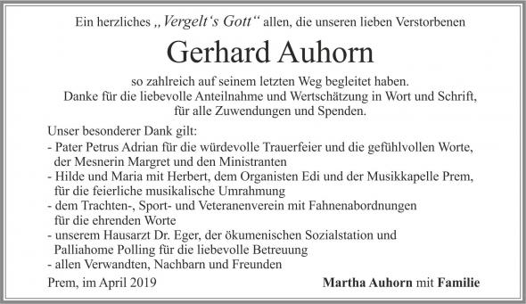 Gerhard Auhorn