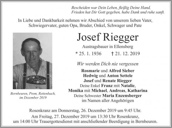 Josef Riegger