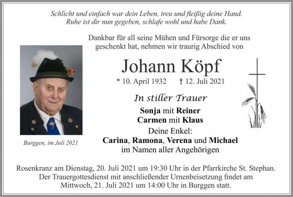 Johann Köpf