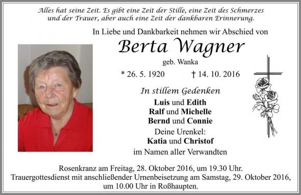 Berta Wagner