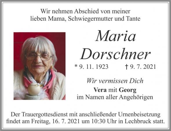 Maria Dorschner