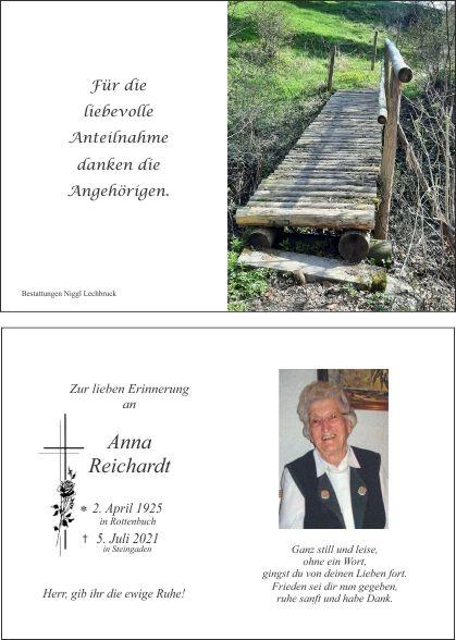 Anna Maria Reichardt