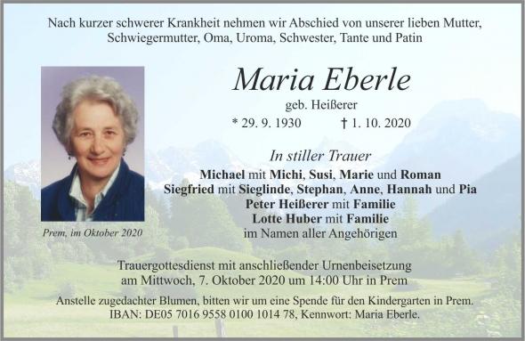 Maria Eberle